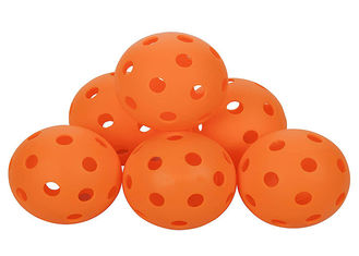 China 26/40 Holes Indoor Pickleball Balls Superior Balance With Exceptional Seam Welding supplier