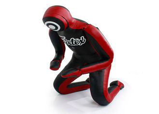 China 180cm MMA Grappling Dummy 25kg With PU Leather And Shred Inside Material supplier